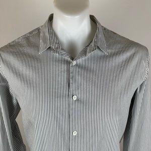 Theory Classic Striped Shirt